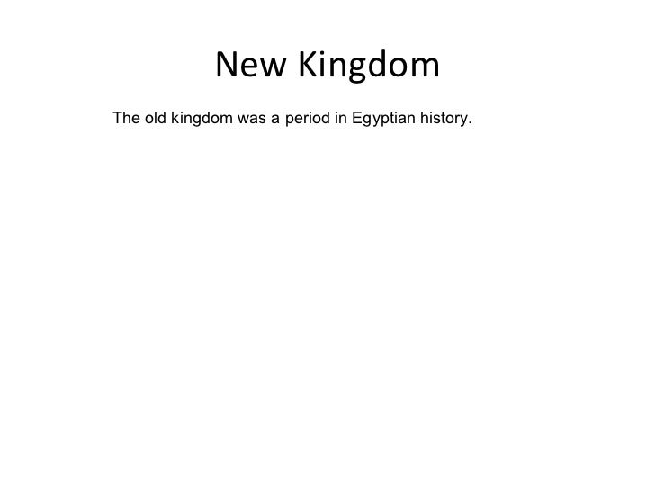 an analysis of the old kingdom of the egyptian history This article aims to be an analytical and a descriptive study of the  egyptian  society based on examining a group of old kingdom tomb scenes  ws smith,  a history of egyptian sculpture and painting in the old kingdom.