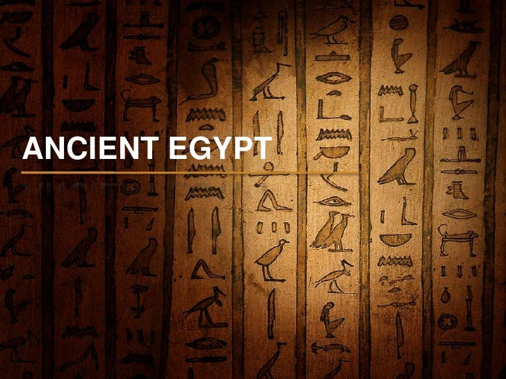 ANCIENT EGYPT<br />