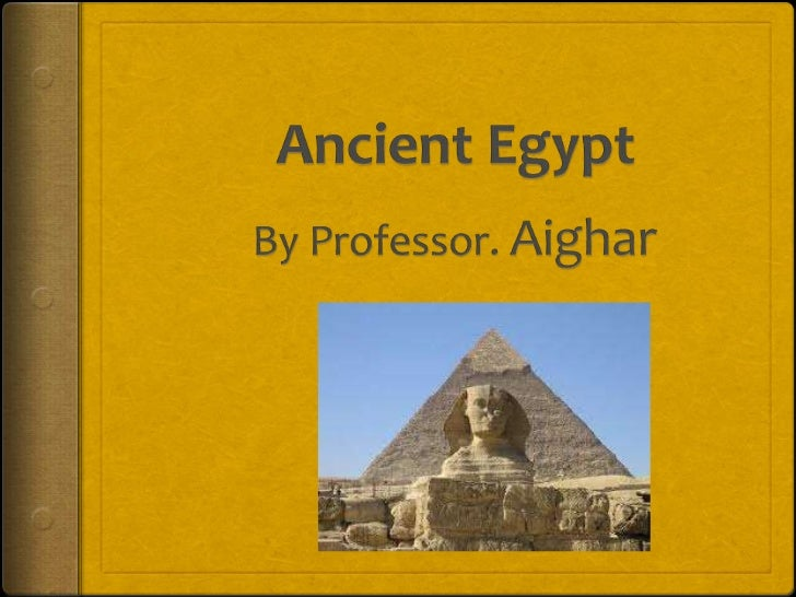 The civilization of ancient Egypt was very powerfulbetween 2800 BC and 1000 BC. It could be foundaround the River Nile. It...