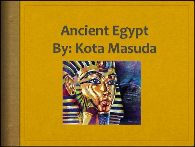 IntroductionAncient Egypt was a civilization that lasted about from 2800Bc to 1300Bc.It developed along the River Nile in ...
