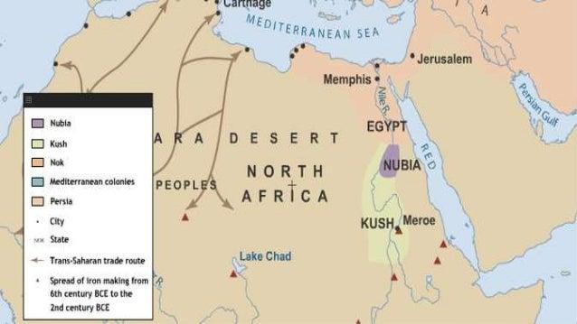 WH Ancient Egypt - Map of egypt kush