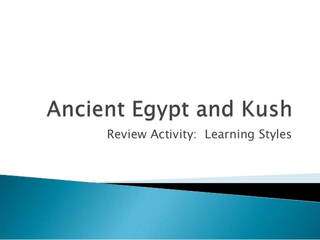 Review Activity: Learning Styles