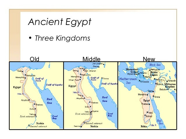 Ancient Egypt History Kingdoms - Map of egypt during the new kingdom
