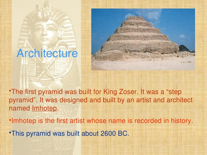 egyptian art and architecture Egyptian art and architecture, the buildings, sculpture, painting, and decorative arts of ancient egypt from about 5000 bc to the conquest of egypt by rome in 30 bc.
