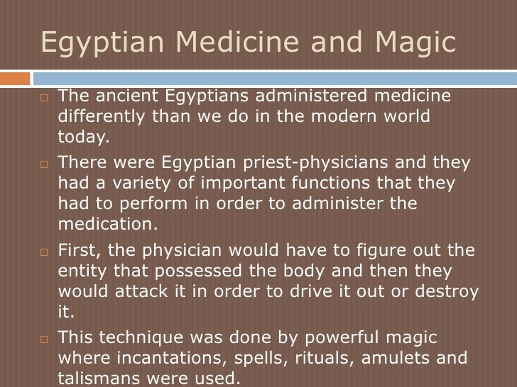 medicine in ancient egypt vs ancient Egyptian medicine 1 was worshipped as a god of healing almost all of our knowledge about ancient egyptian medical knowledge comes from.