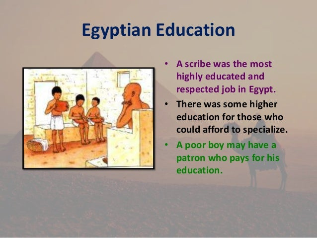 ancient egypt and education essay Ancient egyptian education essays: over 180,000 ancient egyptian education essays, ancient egyptian education term papers, ancient egyptian education research paper, book reports 184 990 essays, term and research papers available for unlimited access.