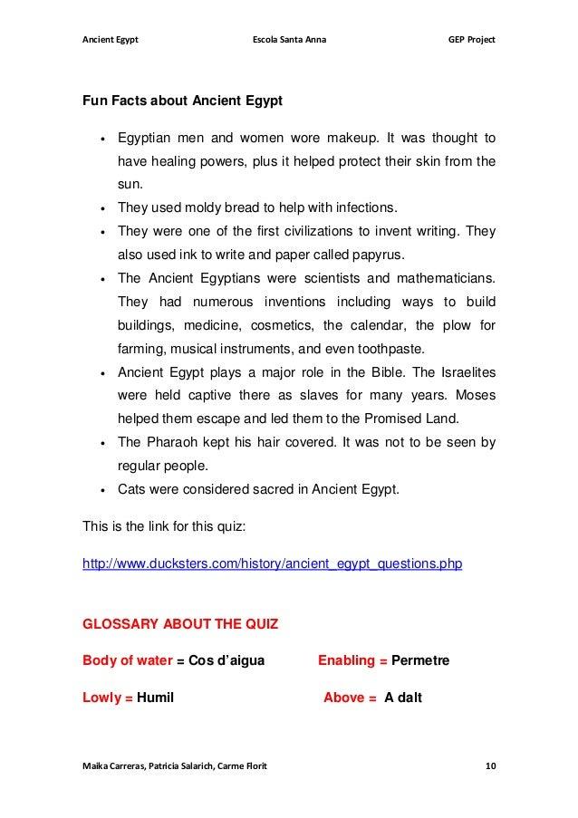 Ancient Egypt Students Worksheets – Ancient Egypt Worksheet