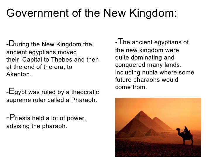 Ancient Egypt The New Kingdom And The Third In