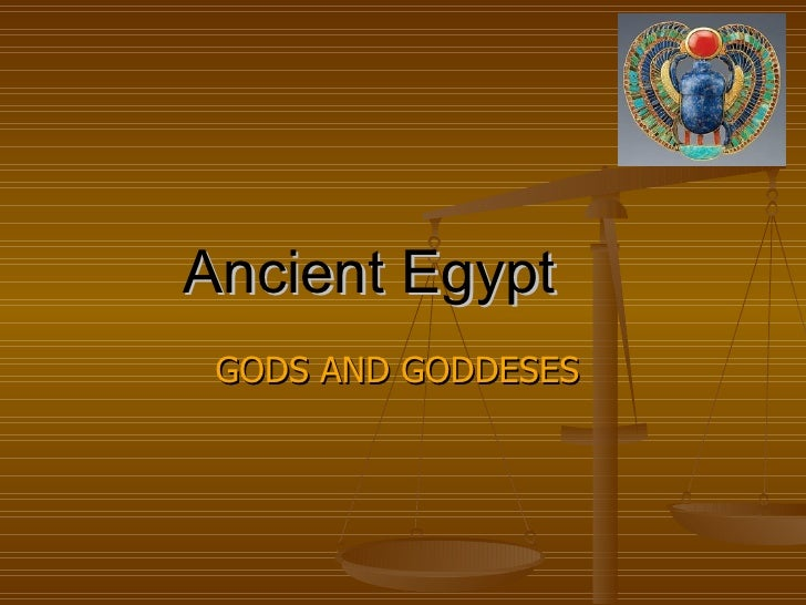 Ancient   Egypt   GODS   AND GODDESES  By Thomas Falzon