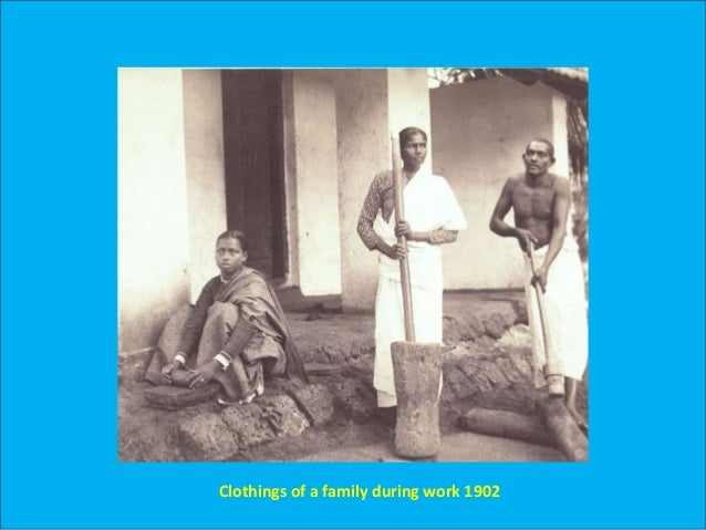 Ancient Fashion In Kerala From Ad 1500