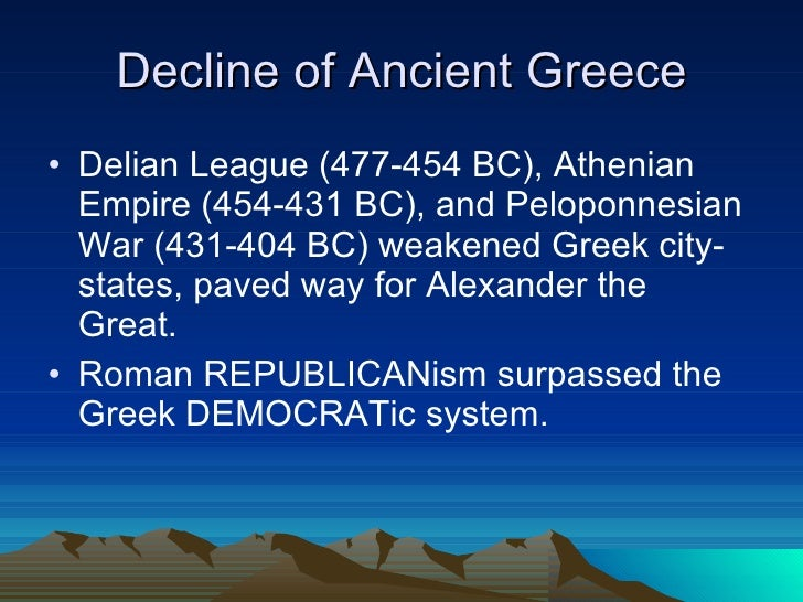 decline and fall of the athenian republic ancient greece 18939