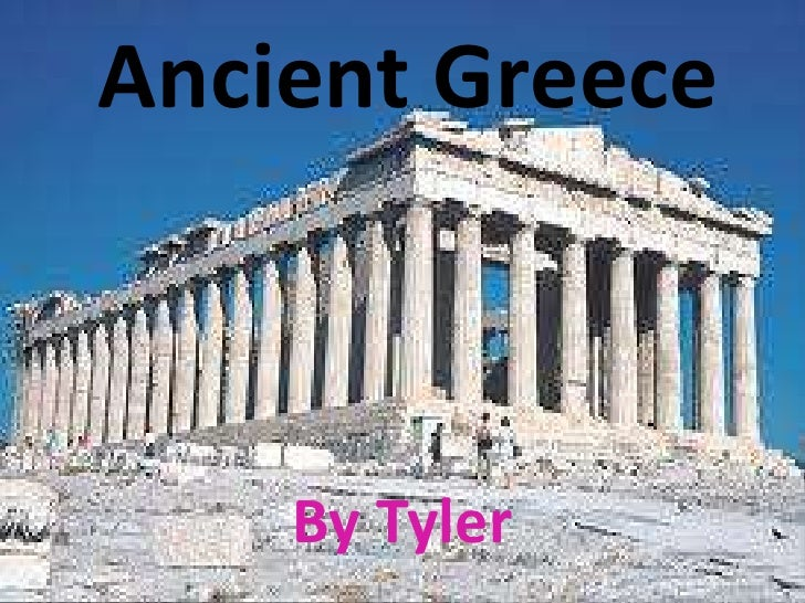 Ancient Greece<br />By Tyler<br />