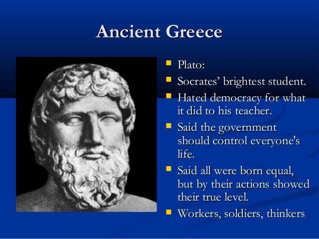 an examination of the ideas of plato and aristotle Hellenistic philosophy  , plato, and aristotle only lasted for about a  plotinus supposed that careful examination of anything in the world could be used to.