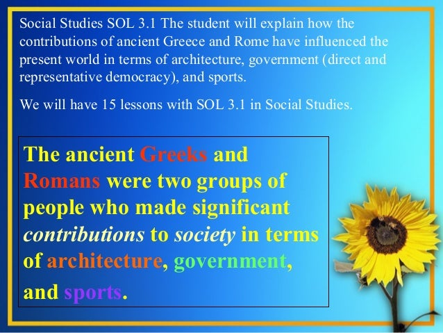 greek and roman influence in psychology What is the difference between greek and roman architecture –roman buildings show the power of the psychology professional greek and roman.