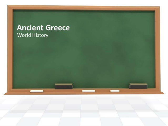 Ancient Greece World History