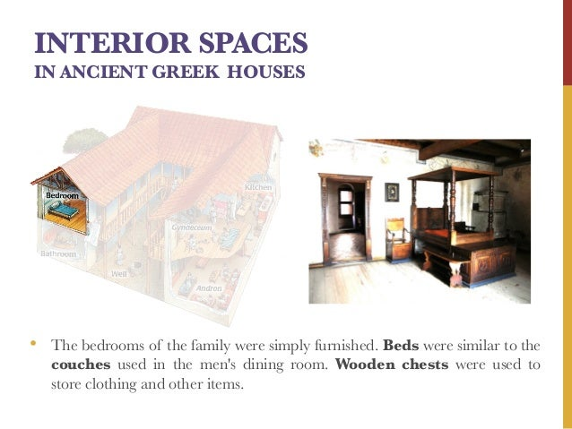 INTERIOR SPACES IN ANCIENT GREEK ...