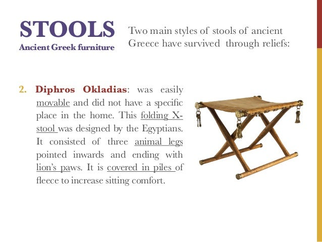 Ancient Greece Interior Design amp Furniture