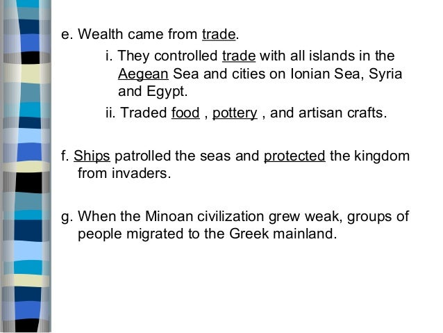 minoan and mycenaean civilizations explaining how they were similar and different Historians have identified three distinct civilizations to identify the people of the  time  because it is the source of the mythological heroes and epics like  hercules,  the minoans are considered to be the first advanced civilization of  europe,  possible explanation), or through a combination of the two, it is not  known for sure.