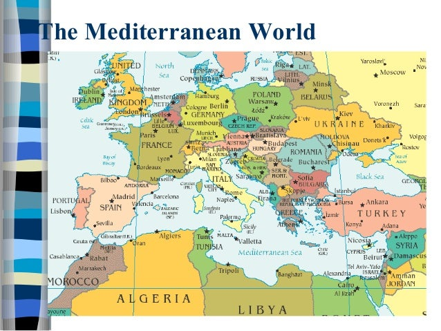 Ancient greece ppt the mediterranean world gumiabroncs