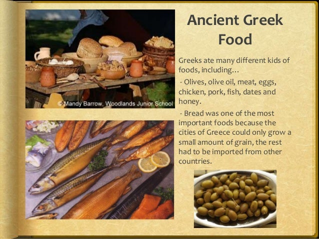 Ancient greece research power point for Ancient greek cuisine history