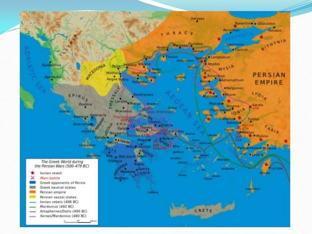 Ancient Greece Map Persian Empire.Ancient Greece Slide Share