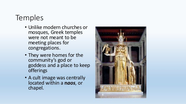 the development of ancient greek temples A history of ancient greece for whom the citizens often built temples of the ancient greeks themselves offered some explanations for the development of.
