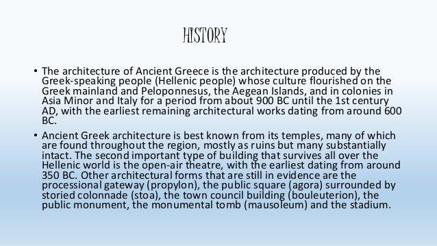 greek architecture ppt ancient