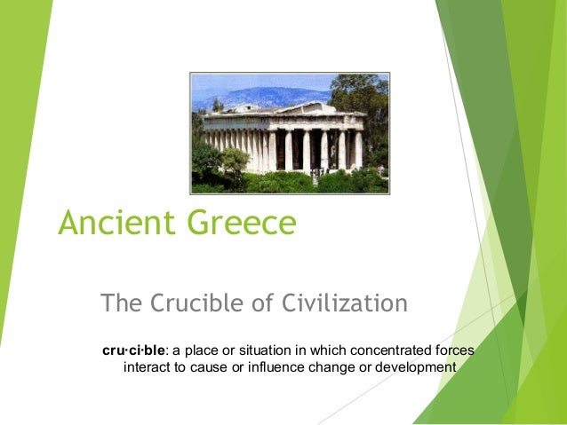 early greek civilization essay The ancient greece culture has made many contributions to western civilization the ancient greeks affected our fine arts, government, sports, medics, and philosophies.