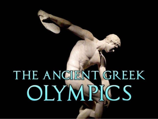 The Ancient Greek Olympics (Ancient History)