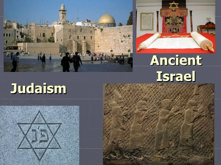 Ancient Israel Judaism