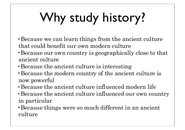 why the study if history is important to us Why is it important to be familiar with church history what is the value in studying the history of the church.