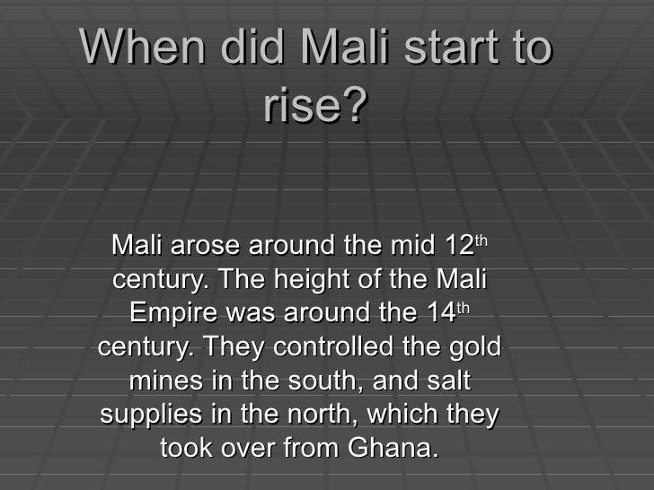 rise and fall of mali empire pdf