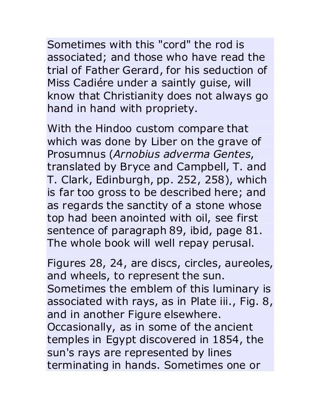 Ancient Pagan And Modern Christian Symbolism Thomas Inman And John N