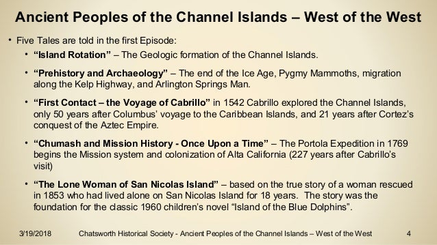 Ancient Peoples of the Channel Islands – West of the West