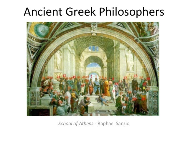 Ancient Greek Philosophers  School of Athens - Raphael Sanzio