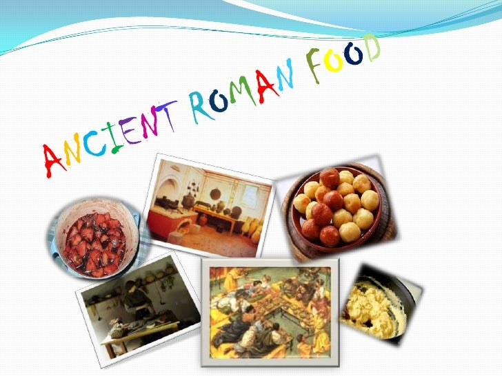 Ancient roman food for Ancient roman cuisine