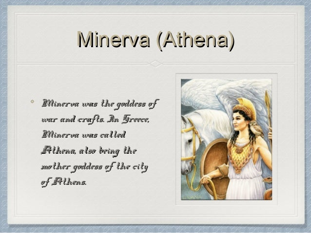 the similarities and differences between the greek goddess athena and the roman goddess minerva