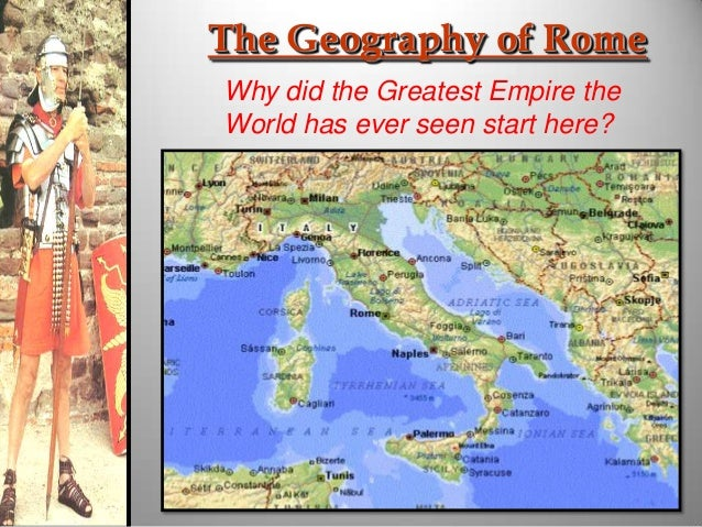 what role did religion play in the ancient world of rome The ancient city of rome dominated most of europe ways in which geography impacted rome's development what roles did geography play in the mexican revolution.