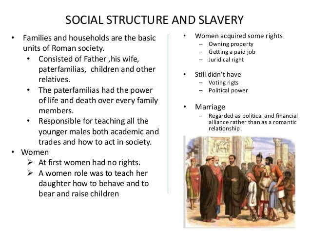 ancient rome social structure