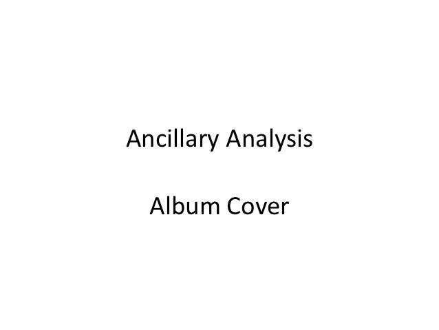 Ancillary Analysis  Album Cover