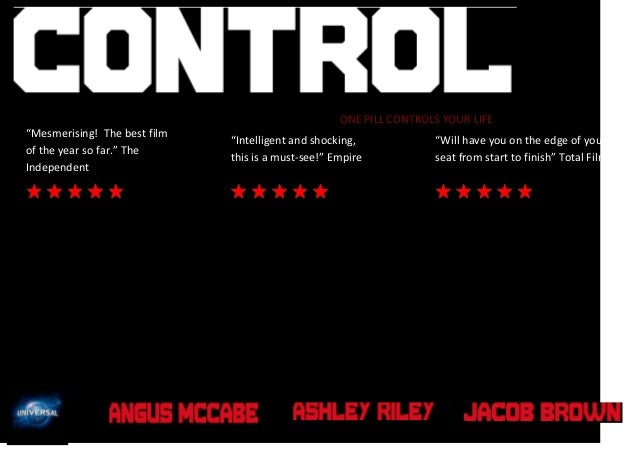 """ONE PILL CONTROLS YOUR LIFE """"Mesmerising! The best film of the year so far."""" The Independent  """"Intelligent and shocking, t..."""