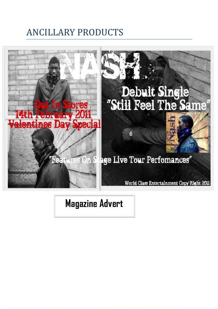 Magazine Advert48482252971800-828675666750ANCILLARY PRODUCTS<br />-24733251300480<br />Inside CoverDIGIPACKBack CoverFront...