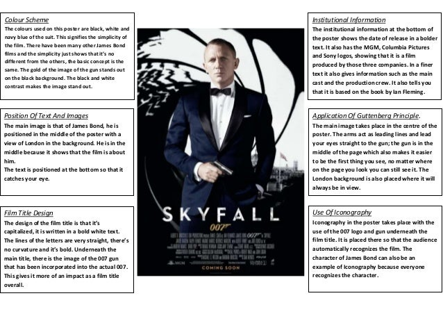 james bond character analysis