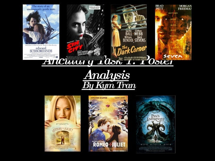 Ancillary Task 1: Poster Analysis   By Kym Tran