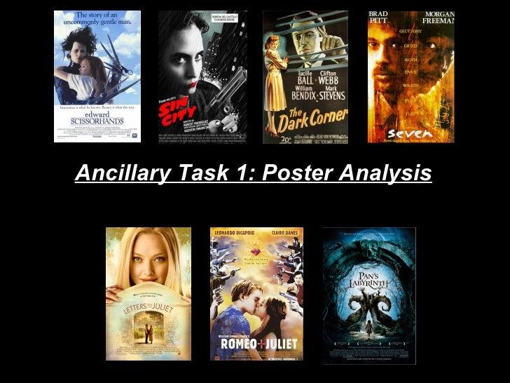 Ancillary Task 1: Poster Analysis