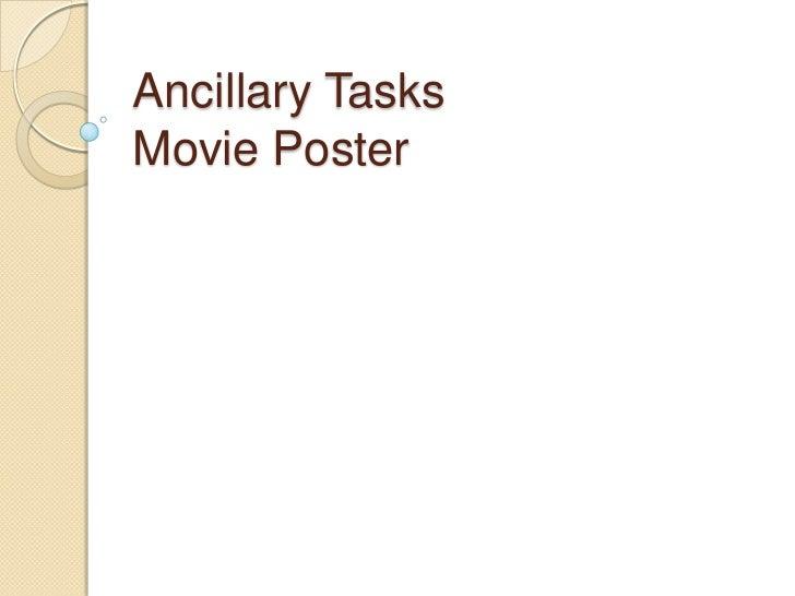 Ancillary TasksMovie Poster