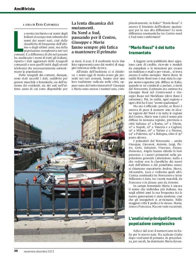 Anci rivista i nomi degli italiani citta per citta for Nomi dei politici italiani