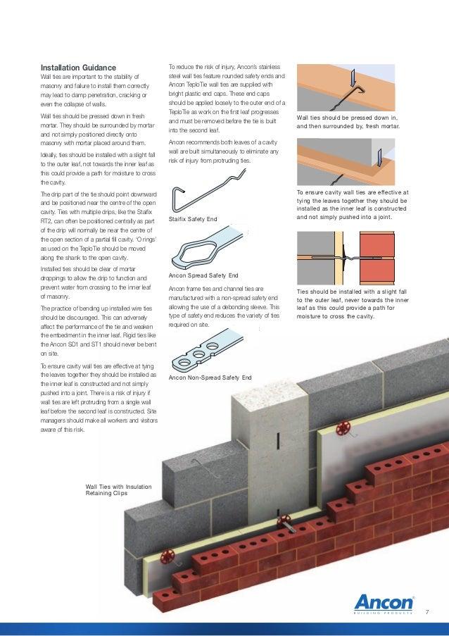 Heavy Duty Stainless Steel Wall Ties 225mm