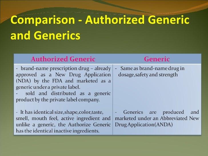 Public Comment Period on FTC's Authorized Generics Study ...