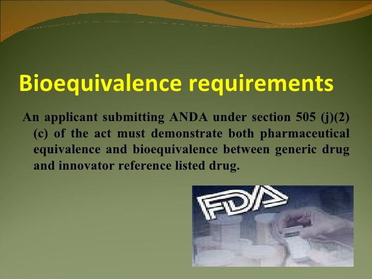 (PDF) Bioavailability and Bioequivalence: An FDA ...